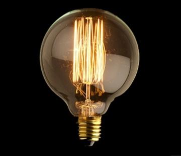 Εικόνα της Λάμπα Διακοσμητική Σφαίρα Edison G125 40W E27