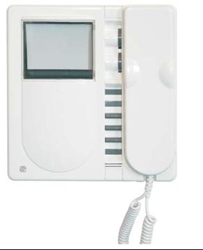Εικόνα της Κιτ Θυροτηλεόρασης Synthesis 8635Α/2 2 Κλήσεων Λευκό Ασπρόμαυρο Amplyvox