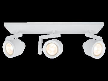 Εικόνα της Φωτιστικό 3/Φωτό Σποτ Magma 3X42W GU10 230V IP20 Λευκό Viokef