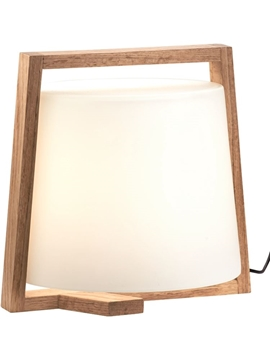 Εικόνα της Φωτιστικό Πορτατίφ Ξύλινο 42W E27 Mondo 3081800 Viokef