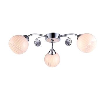 Εικόνα της Homelight Φωτιστικό Οροφής σε χρώμιο 3φωτο FIGO 9524/3 FIGO