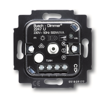 Εικόνα της 2247U-500 Μηχανισμός Ροοστάτη 500VA Συμ.Μ/Σ 12V