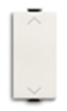Εικόνα της Chiara Διακόπτης Ρολων Λευκός 1 Στοιχείου 16Ax-250V