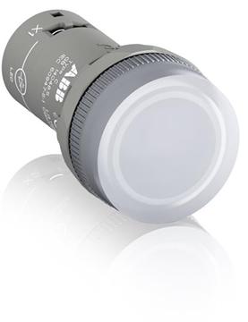 Εικόνα της Cl2-523C Ενδεικτική Λυχία Λευκή Ενός Στοιχείου Led 230VAC