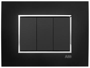 Εικόνα της Mylos Πλαίσιο St Μαύρο Ματ Linear 3Στοιχείων