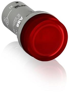 Εικόνα της Cl2-502R Ενδεικτική Λυχία Κόκκινη Ενός Στοιχείου Led 24VAC/DC
