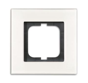Εικόνα της 1721-811 Πλαίσιο 1Θ Λευκό Γυαλί Carat