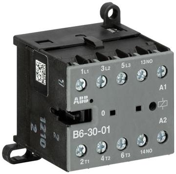 Εικόνα της Μίνι Ρελέ ισχύος 3P 4kW 220V AC 1NC B6-30-01