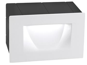 Εικόνα της White Alum. LED 3 Watt 270Lm 3000K L W H Cut Out 10.2x6.5 cm IP54