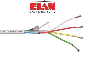 Εικόνα της Καλώδιο Συναγερμού Elan 4X0.22 Με Θωράκιση Αλουμινίου