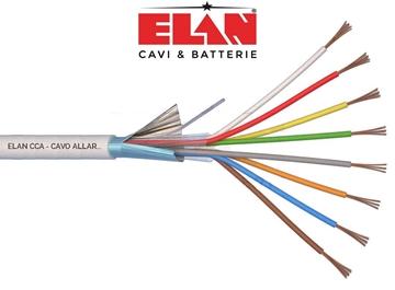 Εικόνα της Καλώδιο Συναγερμού Elan 8Χ0.22 Με Θωράκιση Αλουμινίου