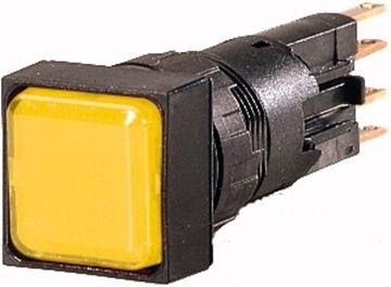 Εικόνα της Ενδεικτική λυχνία, φλος, κίτρινο, + λάμπα πυρακτώσεως, 24 V