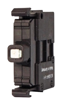 Εικόνα της Στοιχείο LED Κόκκινο 12-30V AC/DC, τοποθέτηση βάση μπουτονιέρας M22-LEDC-R