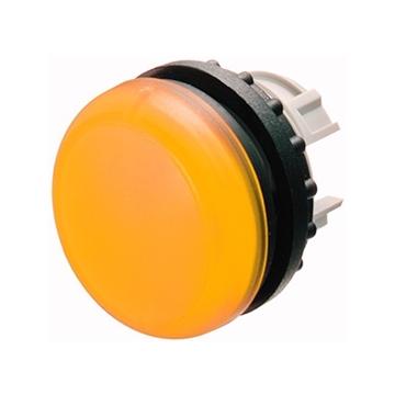 Εικόνα της Κεφαλή ενδεικτικής λυχνίας επίπεδη κίτρινη για LED Moeller