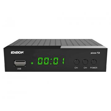 Εικόνα της ΨΗΦΙΑΚΟΣ ΔΕΚΤΗΣ EDISION PICCO T2 DVB-T2, MPEG4