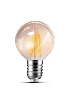Εικόνα της Λάμπα led γλομπάκι G45 4w Ε14 filament 3000K Lambario
