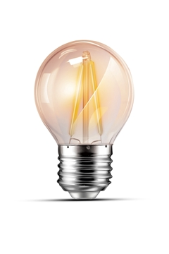 Εικόνα της Λάμπα led γλομπάκι G45 4w Ε27 filament 3000K Lambario