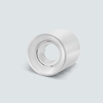 Εικόνα της Σποτ εξωτερικό στρογγυλό λευκό GU5.3 IP20 για λάμπα led πλαστικό Lambario