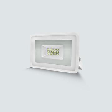 Εικόνα της Προβολέας smd  10w 4200K  IP65 άσπρος Lambario