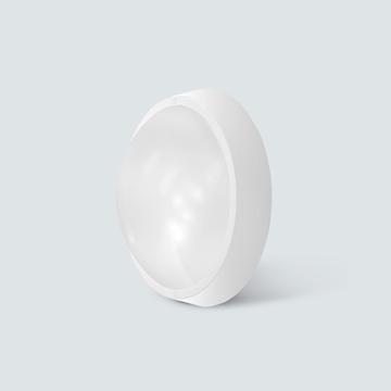 Εικόνα της Πλαφονιέρα led στρογγυλή 30w 2250lm 6400K IP65 λευκή Lambario