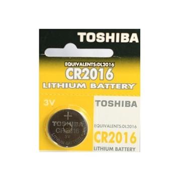 Εικόνα της ΜΠΑΤΑΡΙΑ CR2016 LITHIUM COIN BP5 (1TEM) TOSHIBA