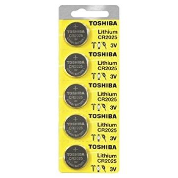 Εικόνα της ΜΠΑΤΑΡΙΑ CR2025 LITHIUM COIN BP5 (1TEM) TOSHIBA