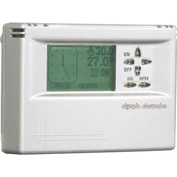 Εικόνα της Bs-816 Προγραμματιζόμενος Θερμοστάτης Λευκός