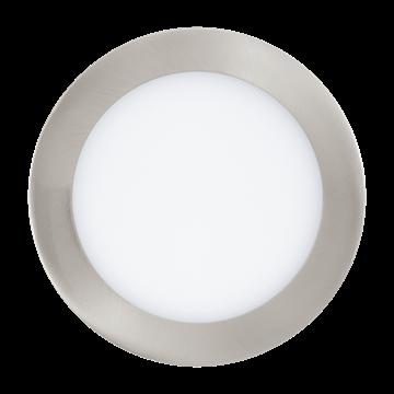 Εικόνα της Φωτιστικό Πάνελ Led-Ble-Rgb/Cct Φ170 Νικέλ Fueva 32754 Eglo