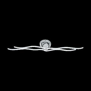 Εικόνα της Led-Απλικα/Πλαφονιερα Χρωμε/Λευκοroncade