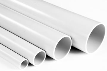 Εικόνα της Courline Ευθύς Σωλήνες Ελαφρού Τύπου 320Ν Λευκό Φ23mm