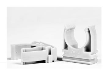 Εικόνα της Στηρίγματα Κουμπωτά Φ25mm Γκρι 34-21003-025 34-21003-025 Courbi