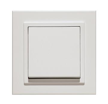 Εικόνα της Πλαίσιο λευκό μονό Auro