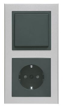 Εικόνα της Πλαίσιο διπλό αλουμίνιο Aura