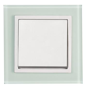 Εικόνα της Πλαίσιο γυαλί λευκό ματ Aura