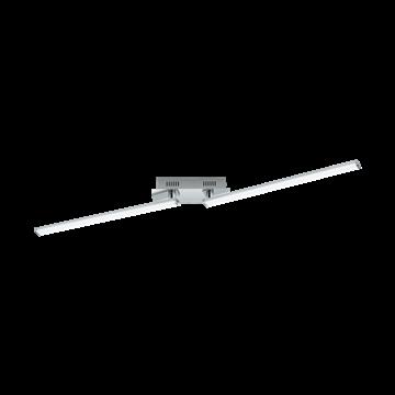 Εικόνα της Φωτιστικό Οροφής Led Χρώμιο-Λευκό Lasana 2 96107 Eglo