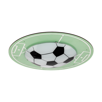 Εικόνα της Πλαφονιερα1 E27 Μοτιβο Fussballfeld Tabara