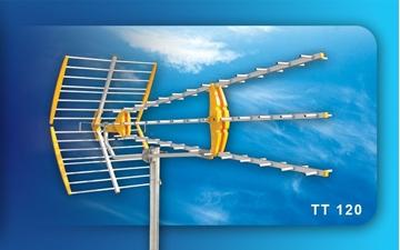 Εικόνα της Κεραία UHF 21-69 τριπλή μεσαία TT120 CONDOR