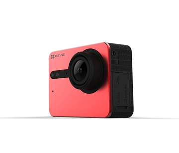 Εικόνα της CS-SP200-A0-216WFBS Ezviz Action Camera 4k 15/12fps Red