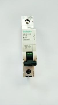 Εικόνα της Μικροαυτόματη ασφάλεια 4,5kA B 10A 1P Siemens