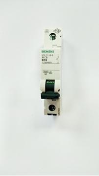 Εικόνα της Μικροαυτόματη ασφάλεια 4,5ΚΑ,16Α,1P,Β