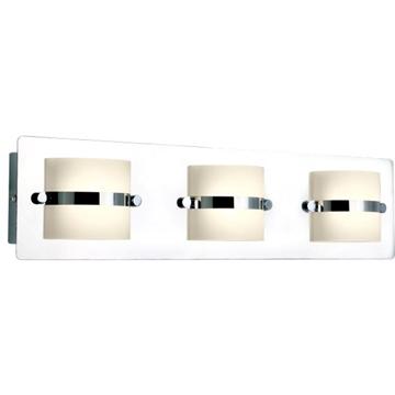 Εικόνα της Φωτιστικό Λουτρού Τριπλό LED 15W Χρώμιο
