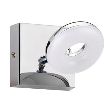 Εικόνα της Φωτιστικό Λουτρού Μονό Κύκλος LED 5W Ip44 Χρώμιο