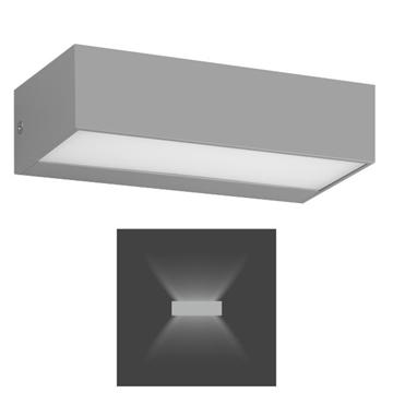Εικόνα της Απλίκα Τοίχου Εξωτερικού Χώρου Παραλληλόγραμμη LED 8W 4000K