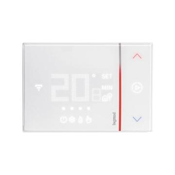 Εικόνα της Smarther Wi-Fi Θερμοστάτης Χώρου Επίτοιχος 2 έξοδοι 230V Legrand