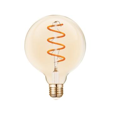 Εικόνα της Λαμπα Led Fil.Dim G95 Amber E27 5W 2200K Vk/05158/D/E/Sp/A