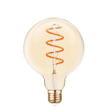 Εικόνα της Λαμπα Led Fil.Dim G125 Amber E27 5W 2200K Vk/05159/D/E/Sp/A