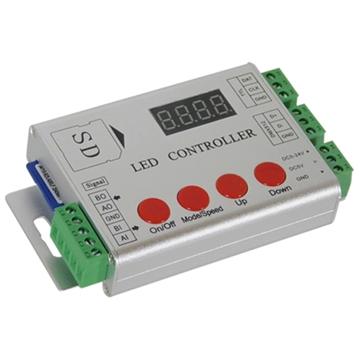 Εικόνα της LED Digital Controller HC03 2048 IC DMX512 SD CARD GloboStar 88769