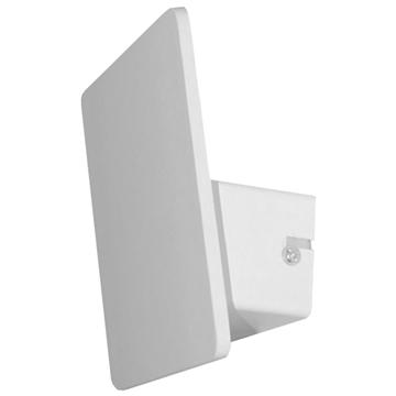 Εικόνα της LED Φωτιστικό Τοίχου Απλίκα Αρχιτεκτονικού Φωτισμού Square Back Light Λευκό IP54 10 Watt CREE Θερμό Λευκό GloboStar 93050