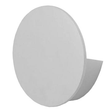 Εικόνα της LED Φωτιστικό Τοίχου Απλίκα Αρχιτεκτονικού Φωτισμού Round Back Light Λευκό IP54 10 Watt CREE Θερμό Λευκό GloboStar 93053