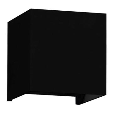 Εικόνα της LED Φωτιστικό Τοίχου Αρχιτεκτονικού Φωτισμού Μαύρο Up Down με Ρυθμιζόμενες Μοίρες Φωτισμού 10-100° Θερμό Λευκό IP65 GloboStar 96